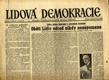Lidová demokracie - roč. I., č. 28