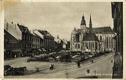Košice, hlavní ulice, koňský povoz
