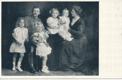 Unser Kaiserpaar mit Kronprinz Otto und Erzh. Adelheid, Robert und Felix
