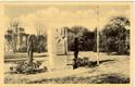 Chomutov, sady, pomník