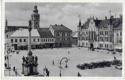 Nový Bydžov, náměstí, auta