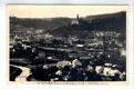 Náchod - Pohled na město, nádraží