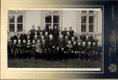 Karel Lustig - školní fotografie (vpředu vlevo) - Kardašova Řečice - foto atelier J. A.. Pelnař - Soběslav
