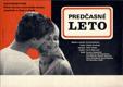 Filmový plakát - Předčasné léto