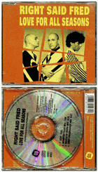 CD - Maxi Single - Right Said Fred - Love For All Seasons