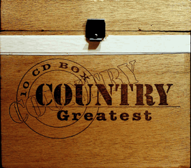 10 CD - COUNTRY GREATEST