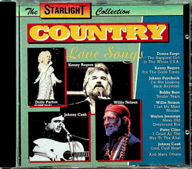 CD - The Starlight Collection - Country Love Songs