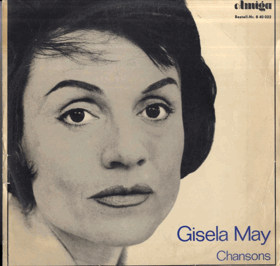 LP - Gisela May - Chansons