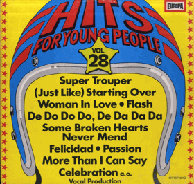 LP - Hits For Young People Vol. 28