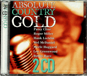 2CD - Absolute Country Gold - NEROZBALENO !