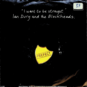SP - Ian Dury and the Blockheads - I want to be straight