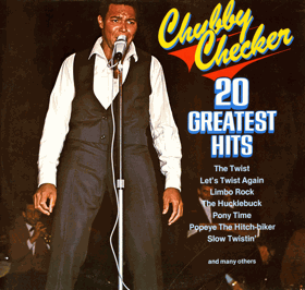 LP - Chubby Checker - 20 Greatest Hits