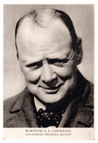 Winston L. S. Churchill (pohled)