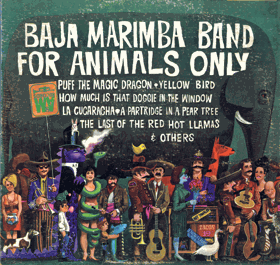 LP - Baja Marimba Band For Animals Only
