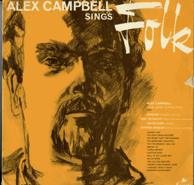 LP - Alex Campbell Sings Folk
