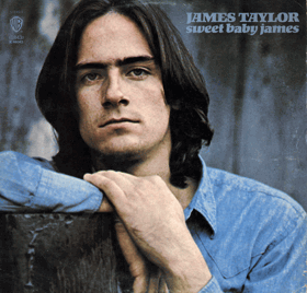 LP - James Taylor ‎– Sweet Baby James