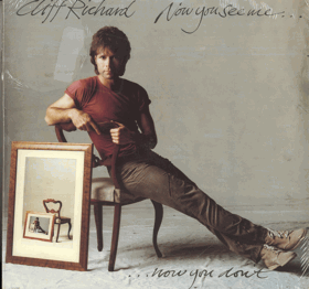 LP - Cliff Richard ‎– Now You See Me... ...Now You Don't - NEROZBALENO !