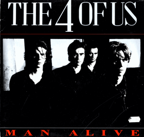 LP - The 4 Of Us ‎– Man Alive