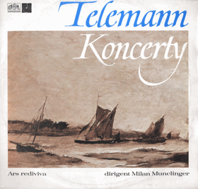 LP - Telemann - Koncerty