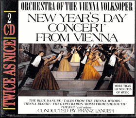 2CD - New Year´s Day Concert From Vienna