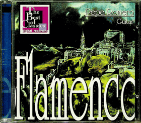 CD - Flamenco - Pepe Romero - Guitar