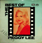LP - Peggy Lee - The Best Of