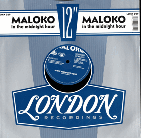 LP -  Maloko - In The Midnight Hour - Maxi-Single