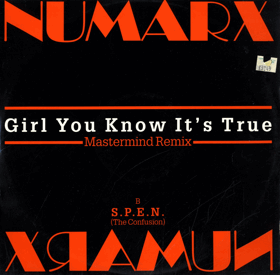 LP -  Numarx - Girl You Know It´s True