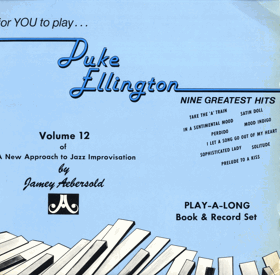 LP -  Jamey Aebersold ‎– For You To Play... Duke Ellington Nine Greatest Hits