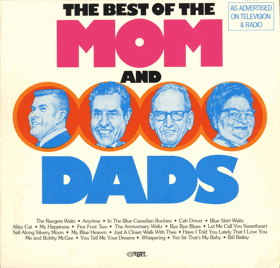 LP -  The Mom And Dads ‎– The Best Of The Mom And Dads