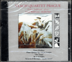 CD - Vlach Quartet Prague