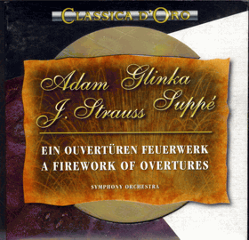 CD - Classica d´ Oro - Adam, Glinka, Joh. Strauss, Suppé