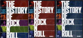 DVD - The History Of Rock´n´Roll - 5 DVD