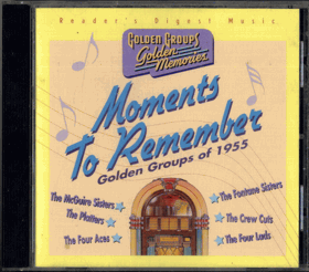 CD - Moments To Remember