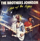 SP - The Brothers Johnson - Light, Up The Night, Street Wave