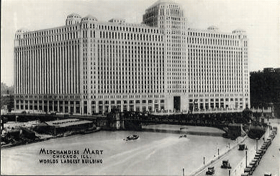 Merchandise Mart Chicago, ill. (pohled)