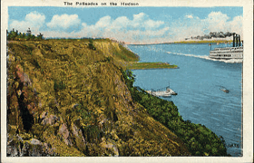 The Palisades on the Hudson (pohled)