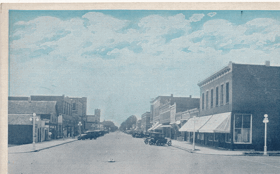 A Business Street View, West, Schuyler, Nebr (pohled)