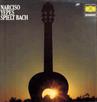 LP - Narciso Yepes Spliet Bach