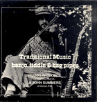 LP - Traditional Music banjo, fiddle a bagpipes