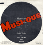 LP - Musi-que - No. 1 - Volume III - Sounds Effects