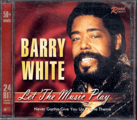 CD - Barry White - Let The Music Play