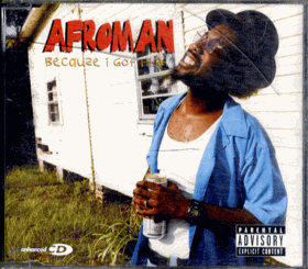 CD - Afroman - Becquze I Got High