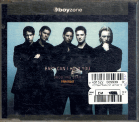 CD - Boyzone - Baby can I Hold You