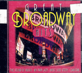 CD - Great Brodway - The Sound of Music - My Fair Lady - West Side Story - Can - Can
