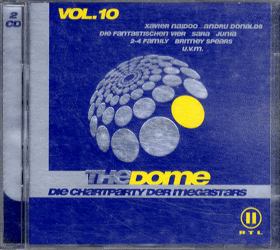2 CD - The Dome - Die Chartparty der Megastars