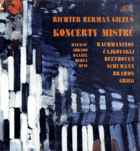 5 LP - Richter Berman Gilels - Koncerty mistrů