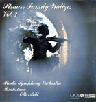 LP -  Strauss Family Waltzes Vol. 3