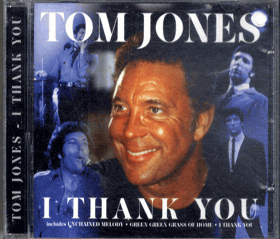 CD - Tom Jones - I Thank You
