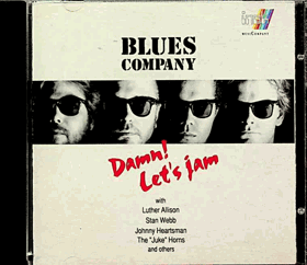 CD - Blues Company - Damn ! Let´s jam